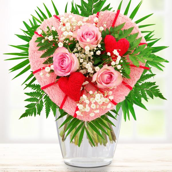 Blumenstrauß Liebesfeuer