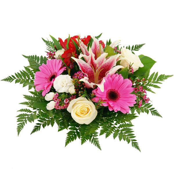 Blumenstrauß Blumenzauber Rosa - Hochzeit / Geburtstag