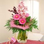 Blumenstrauß orchideenromanze