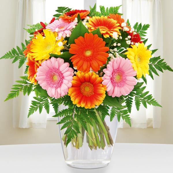 Sträuße Blumenstrauß Gerberapracht