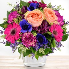 Blumenstrauß Geburtstagsbote