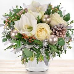 Blumenstrauß Weiße Weihnachten