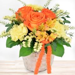 Blumengesteck Alles Liebe