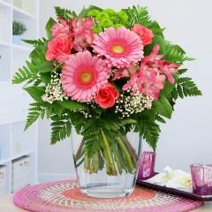 Blumenstrauß Blumenzauber Rosa