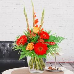 Blumenstrauß Gladiole
