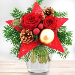 Blumenstrauß Weihnachtsstern