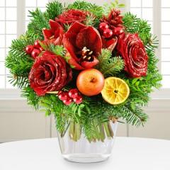 Blumenstrauß Weihnachtstraum