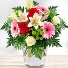 Blumenstrauß Gratulation