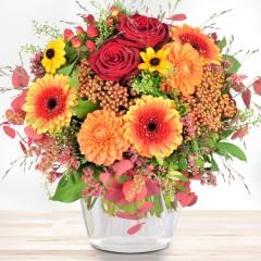 Blumenstrauß Herbstsonne