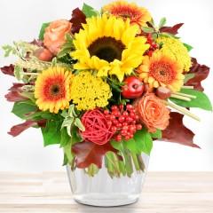 Blumenstrauß Herbstzeit