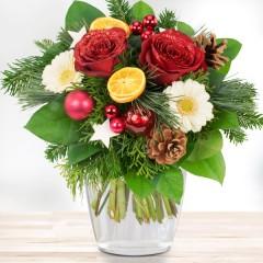 Blumenstrauß Santa Claus