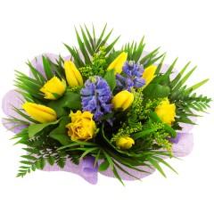 Blumenstrauß Hyazinthenduft