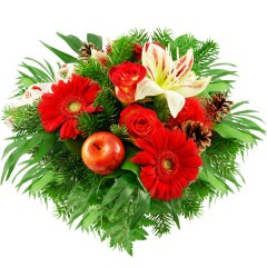 Blumenstrauß Heiligabend
