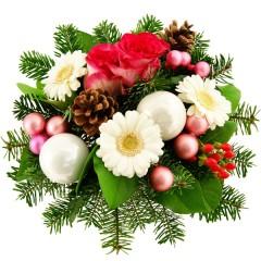 Blumenstrauß Winterzeit