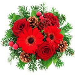 Blumenstrauß Weihnachtsbote