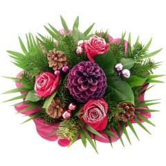 Blumenstrauß Winterfreude