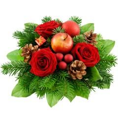 Blumenstrauß Weihnachtsstimmung