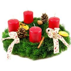 Adventskranz Weihnachtliche Besinnlichkeit (Ø 30cm)