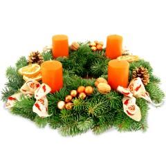 Adventskranz Weihnachtsduft (Ø 30cm)