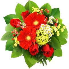 Blumenstrauß Herzklopfen
