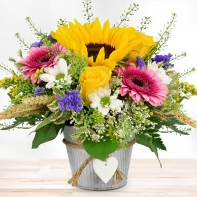 Blumengesteck Sommerliebe