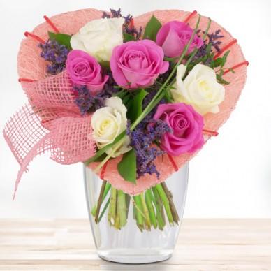 Blumenstrauß Rosenherz