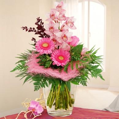 Blumenstrauß Orchideentraum
