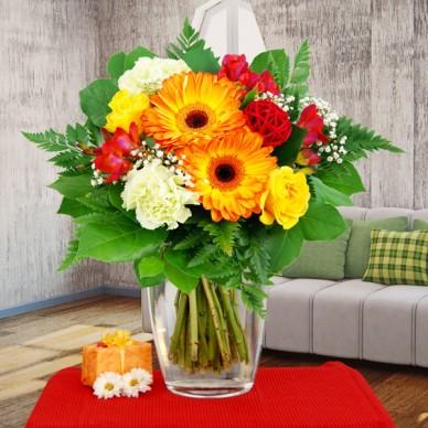 Blumenstrauß Schönen Tag!