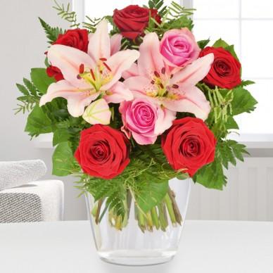 Blumenstrauß Lilienromanze
