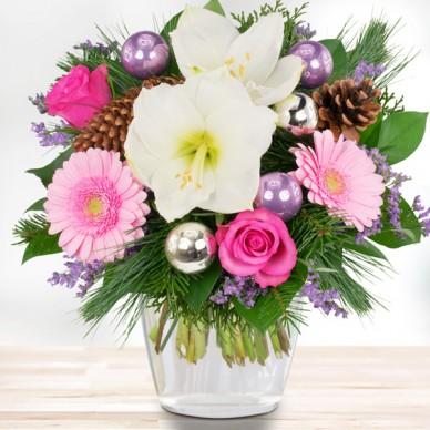Blumenstrauß Eiszauber