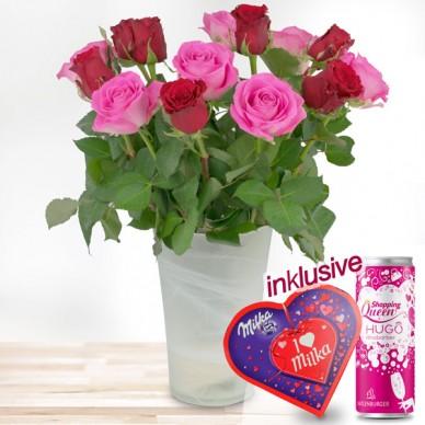 15 rot-rosa Rosen