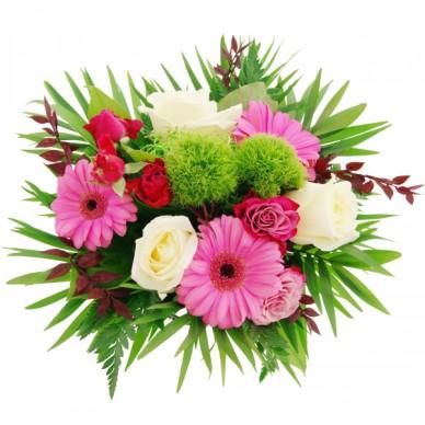 Blumenstrauß Herzliche Glückwünsche
