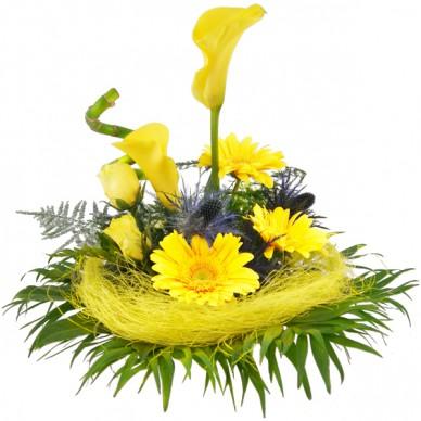 Blumenstrauß Gelber Callatraum