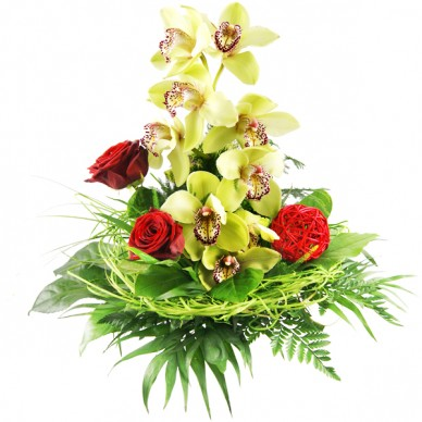 Blumenstrauß Orchidee