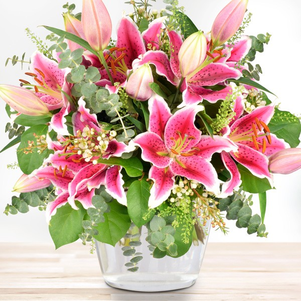 Blumenstrauß Lilienzauber Blumenversand Bluvesade Blumen Online