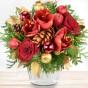 Blumenstrauß Frohes Fest