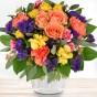 Blumenstrauß Farbenspiel