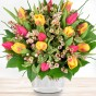 Blumenstrauß Tulpenzeit