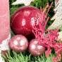 Weihnachtskugel, Spiegelbeeren