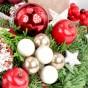 Weihnachtskugeln, Weihnachtsapfel