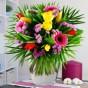 Blumenstrauß Frühlingsfarben