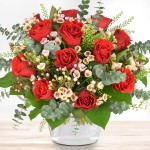 Premium-Rosenstrauß Feuerwerk der Liebe